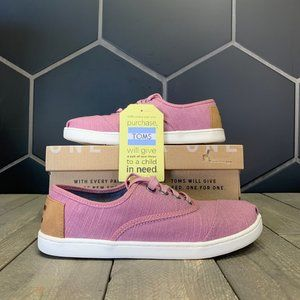 New W/ Box! Youth Toms Cordones Rose Heritage